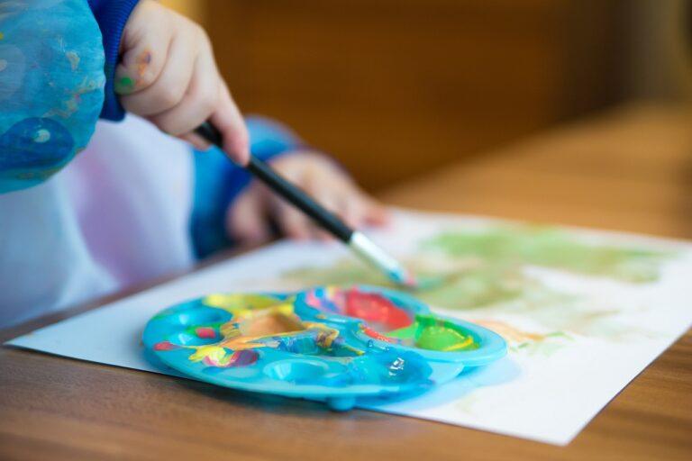 table, paper, creativity
